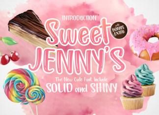 Sweet Jenny's Font