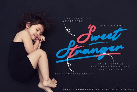 Sweet Stranger Font