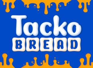 Tackto Bread Font