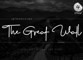 The Great Wall Font