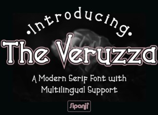 The Veruzza Font