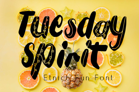 Tuesday Spirit Font
