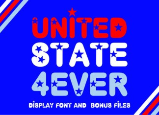 United State 4 Ever Font