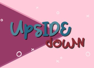 Upside Down Font