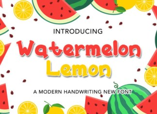 Watermelon Lemon Font