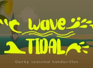 Wave Tidal Font
