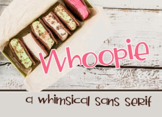 Whoopie Font