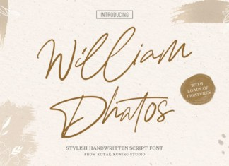 William Dhatos Font