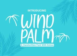 Wind Palm Font