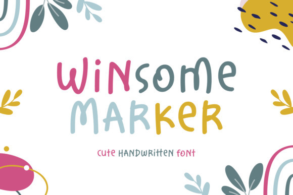 Winsome Marker Font