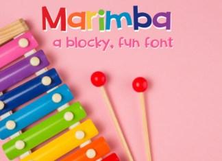 ZP Marimba Font
