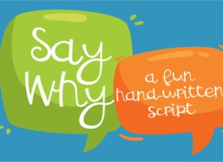 ZP Say Why Font