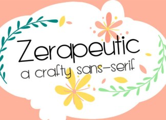 ZP Zerapeutic Font