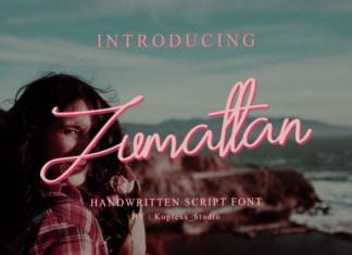 Zumattan Font