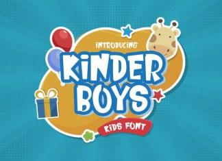 Kinder Boys Font