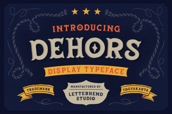 Dehors Font
