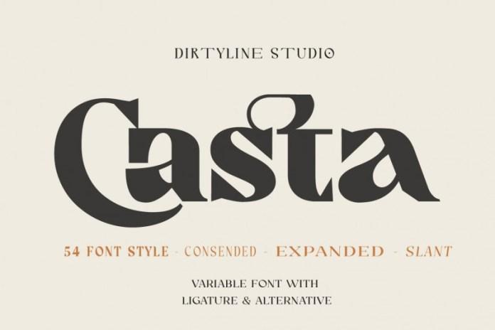 Casta Font Ifonts Xyz