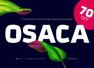 Osaca Font