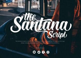 The Santana Font