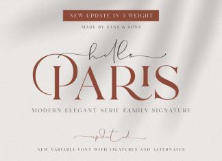 Carphe Paris Font