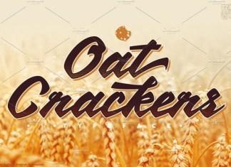 OatCrackers Font