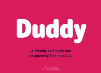 Duddy Font