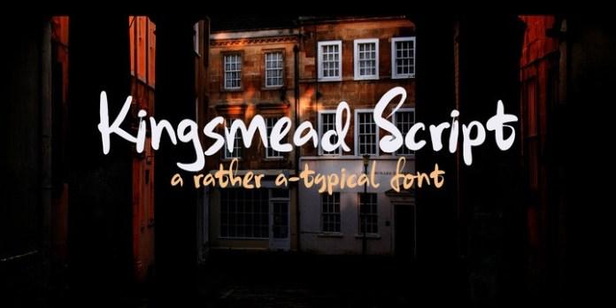 Kingsmead Script Font