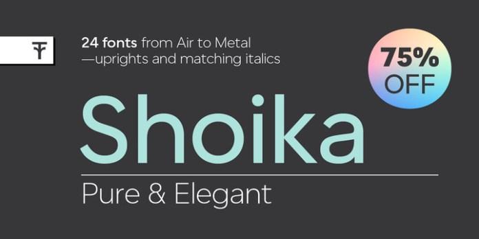 Shoika Font