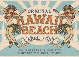 Hawaii Beach Font