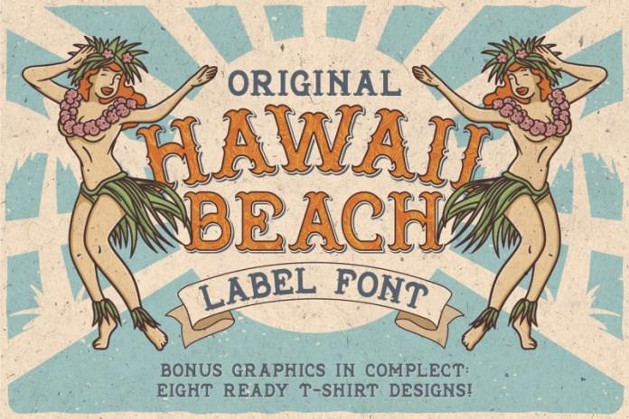 Hawaii Beach Font