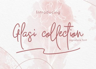 Glasi Collection Font