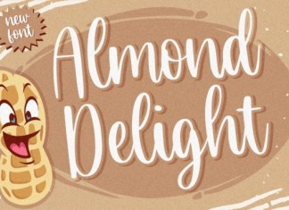 Almond Delight Font