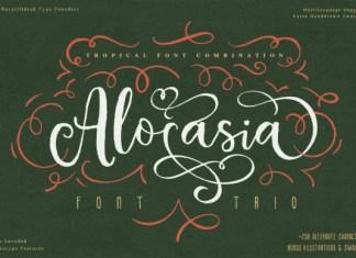 Alocasia Font