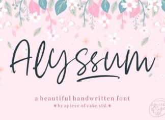 Alyssum Font