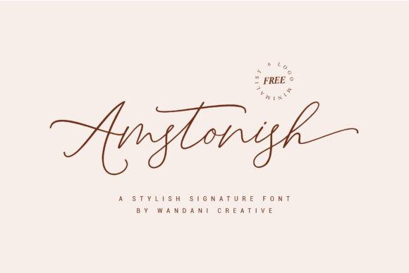 Amstonish Font