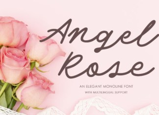 Angel Rose Font