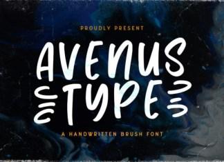 Avenus Type Font