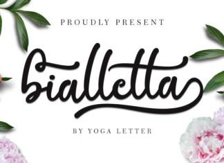 Bialletta Font