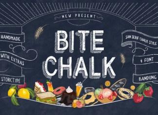 Bite Chalk Font