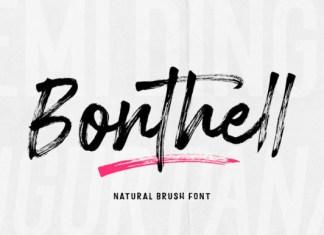 Bonthell Font