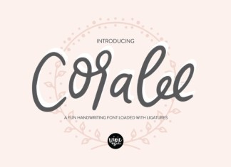Coralee Font