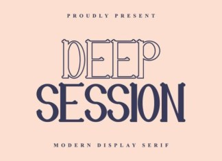 Deep Session Font