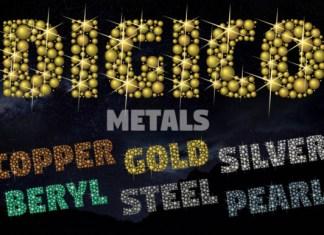 Digico Metals Font