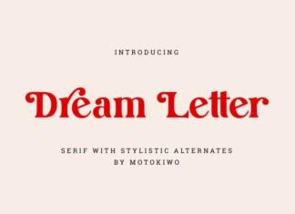 Dream Letter Font
