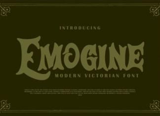 Emogine  Font
