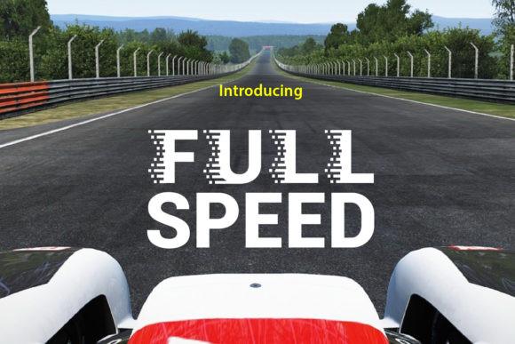 Full Speed Font
