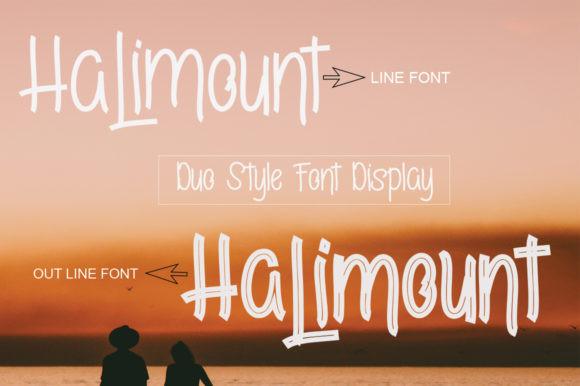 Halimount Font