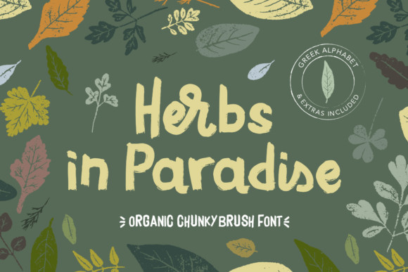 Herbs in Paradise Font