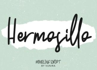 Hermosillo Font