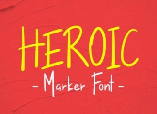 Heroic Font